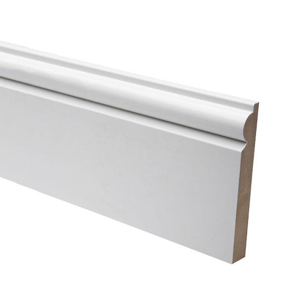 White MDF Skirting Boards