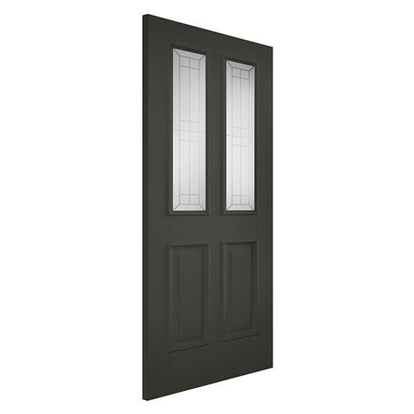 Black Colour Doors