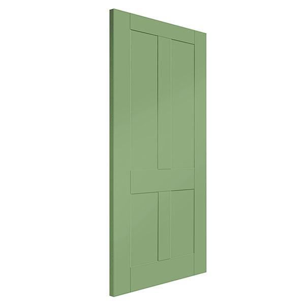 Green Colour Doors